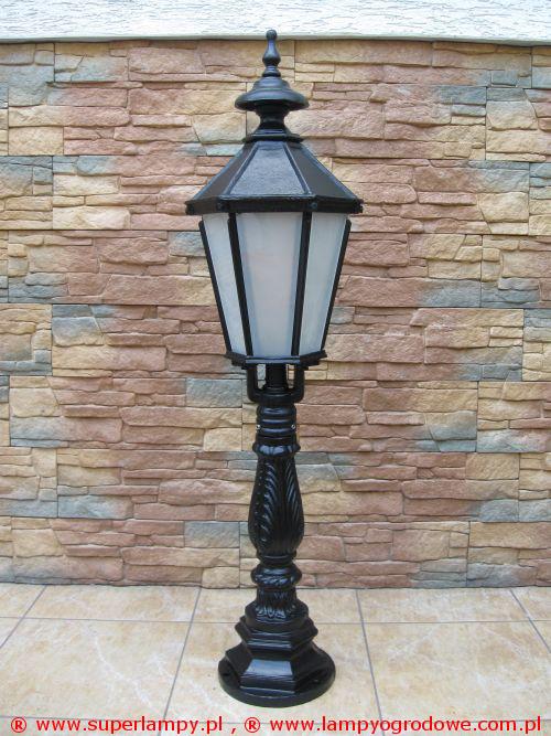 Stylowe żeliwne lampy ogrodowe typu RETRO